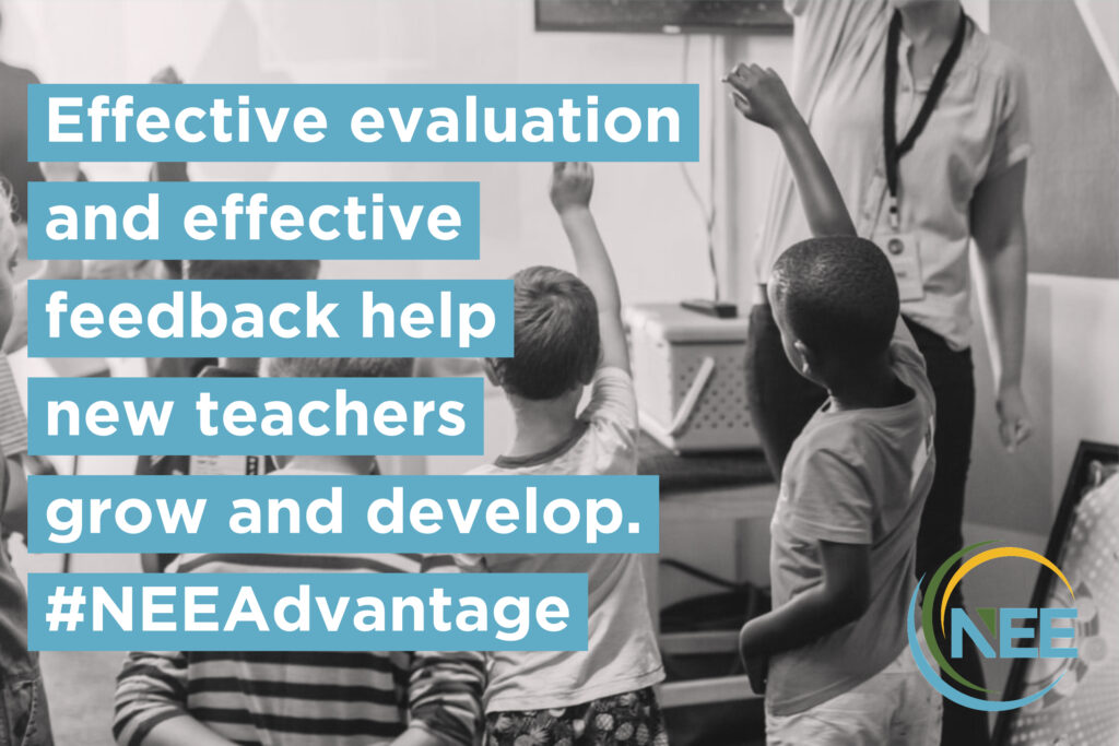 Evaluation for new teachers
