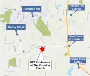 NEE Conference Hotel Map
