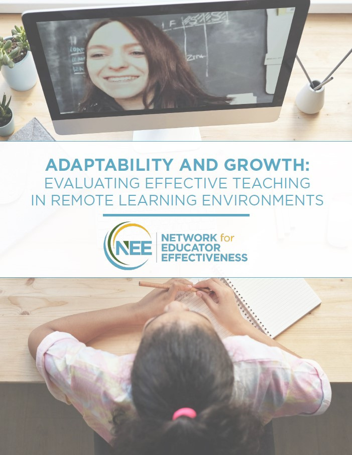 Cover Page of Document Evaluating Effective Remote Learning Environments