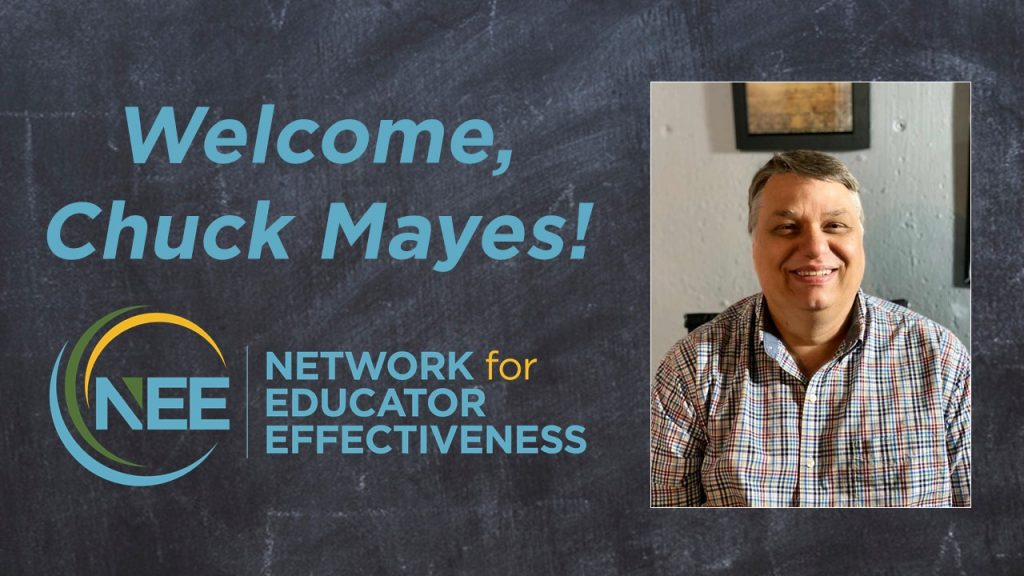 Welcome Chuck Mayes to NEE